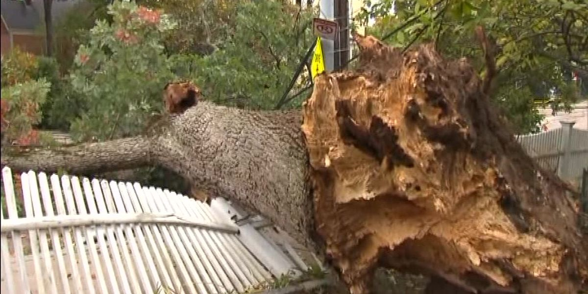 A gusty Northeast cleans up after storm for the record books