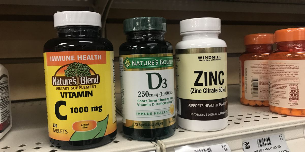 Vitamin sales increase continues, mixed opinions if it can prevent or treat COVID-19