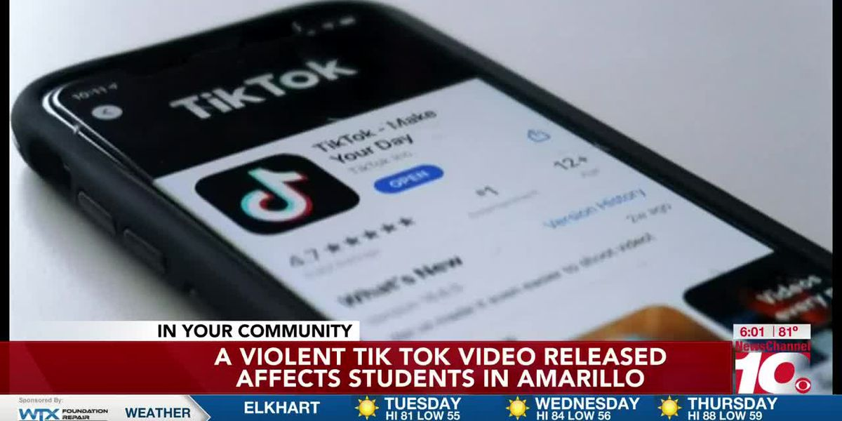 VIDEO: Violent Tik Tok video released affects young students in Amarillo