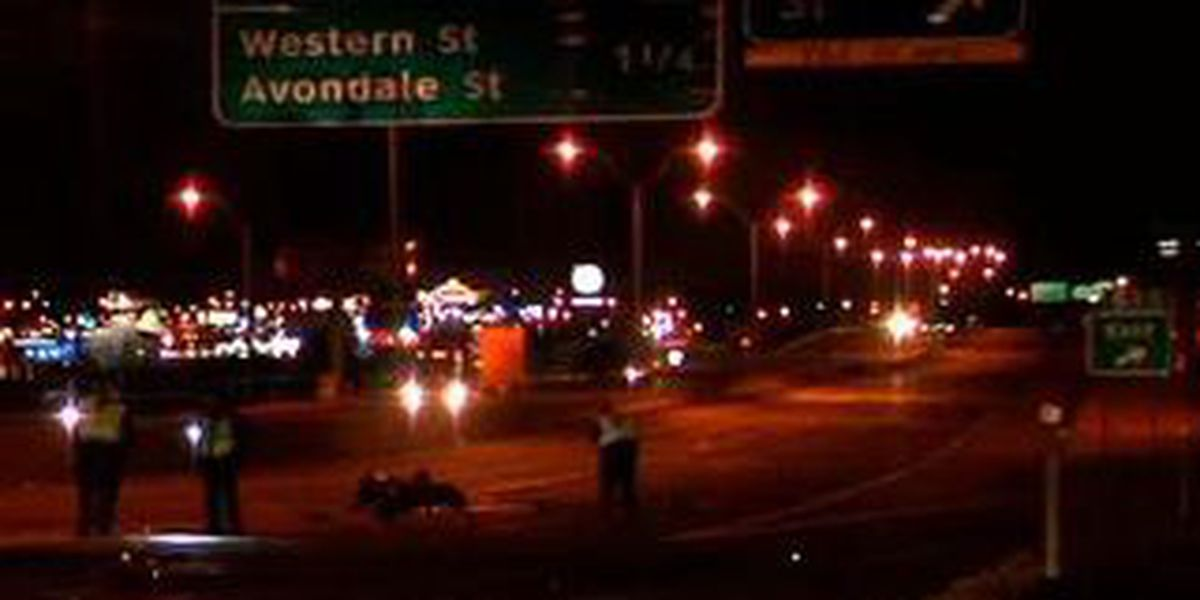 Late night motorcycle accident injures four
