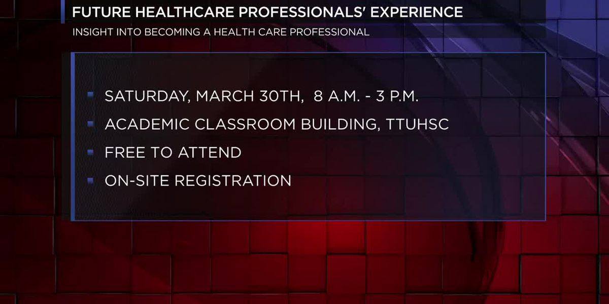 TTU Health Sciences Center to host event for those interested in health care careers