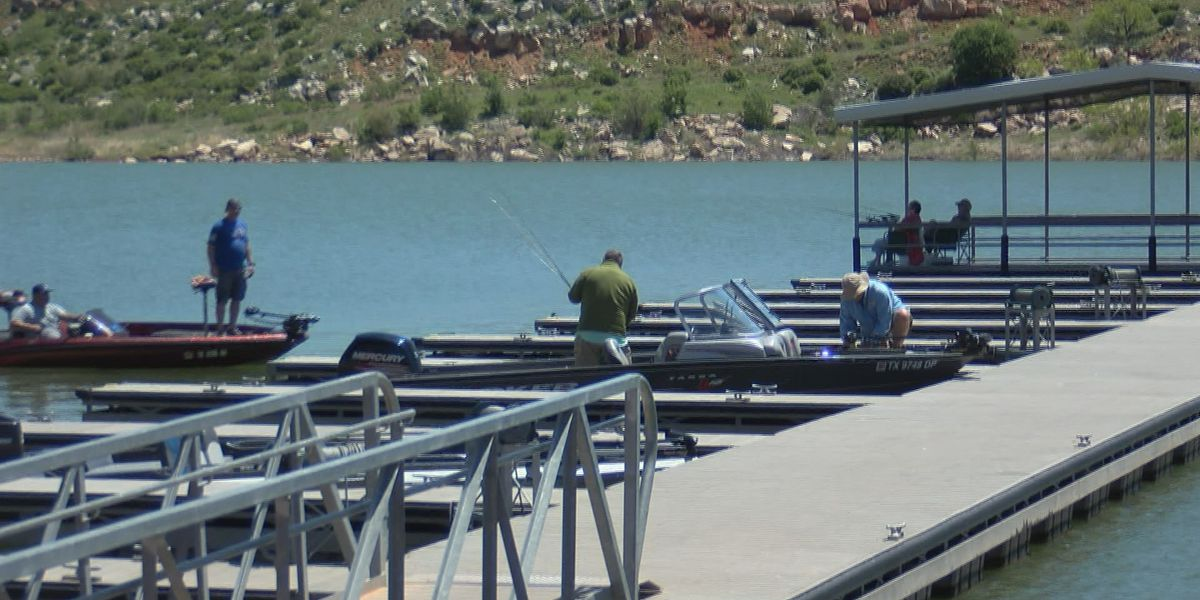 All mooring docks, fishing piers closed at Lake Meredith to slow spread of COVID-19