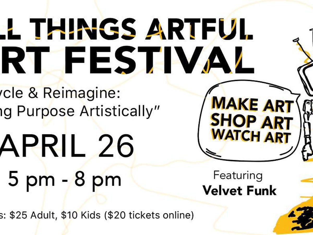 All Things Artful Art Festival happening this weekend