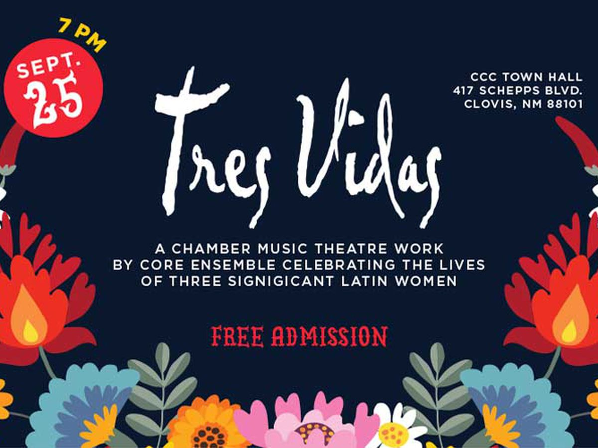 Clovis Community College hosting performance of 'Tres Vidas' musical