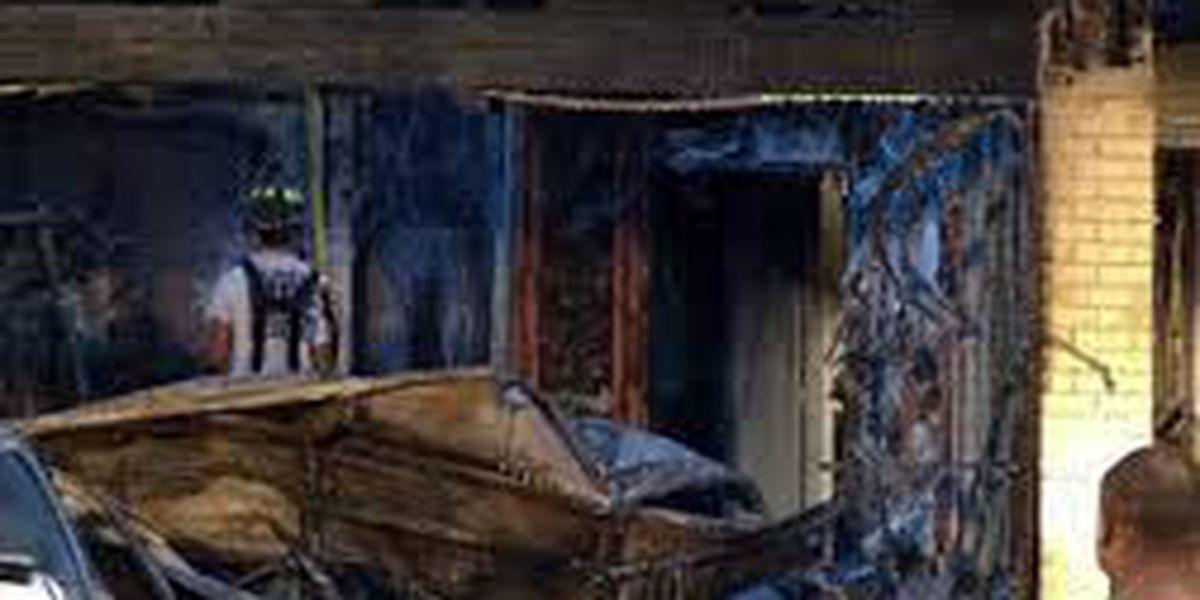 Dos personas heridas luego de incendio