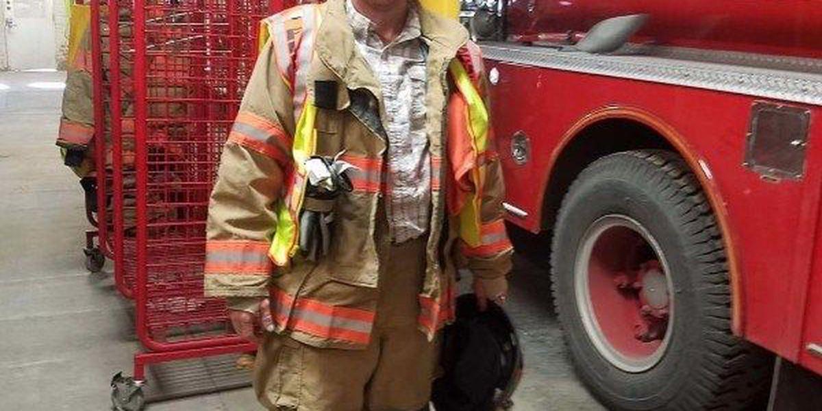 Firefighter hospitalized following Thursday blaze, fundraiser created