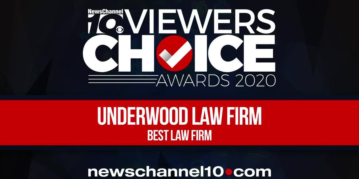 VIEWERS CHOICE AWARDS: UNDERWOOD LAW FIRM WINS BEST LAW FIRM