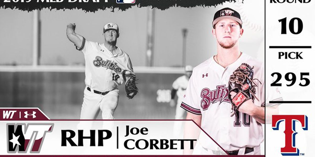West Texas A&M's Corbett drafted in 10th round by the Texas Rangers