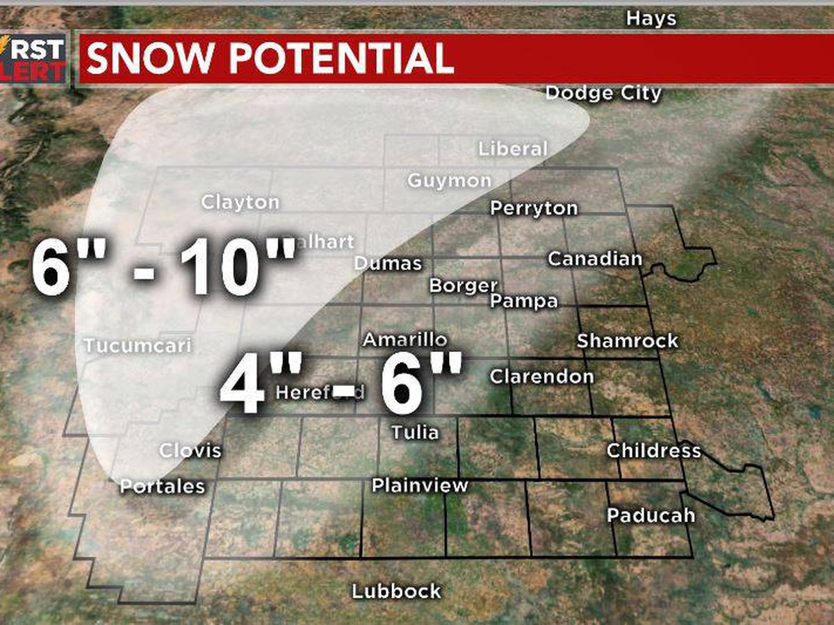 FIRST ALERT: Main storm system arrives tonight, snow expected to increase