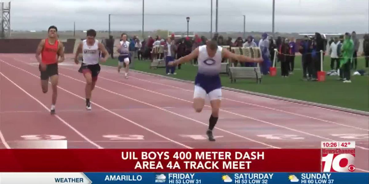 VIDEO: Canyon sweeps competition at Area 4A track meet
