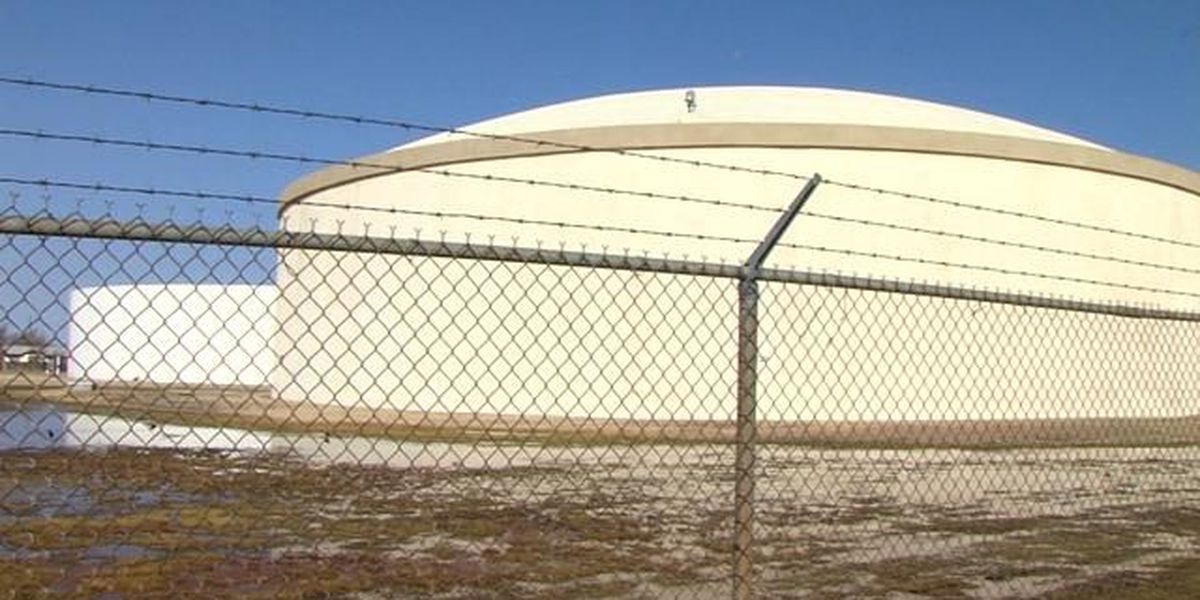 Amarillo pumping station overflows