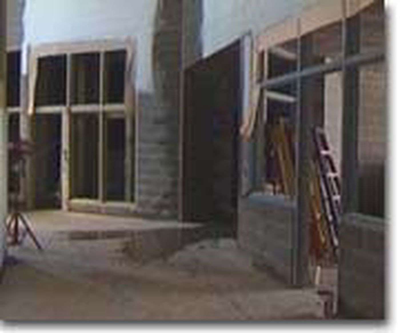 Weather Hinders Jail Construction