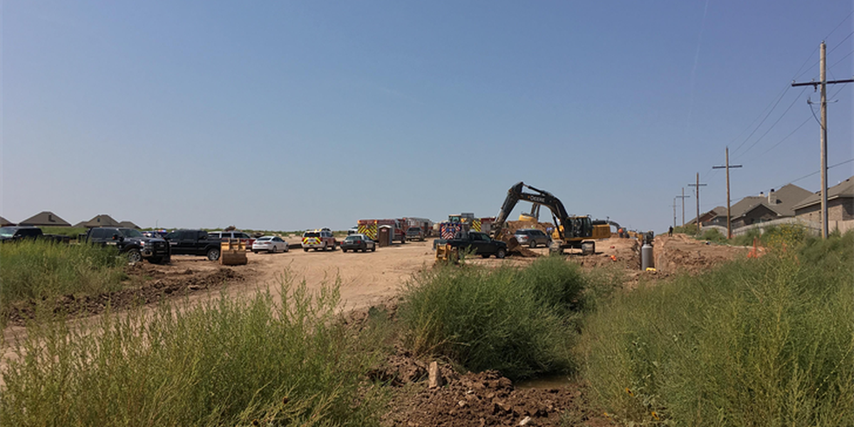 Man rescued after trench collapse in Southwest Amarillo