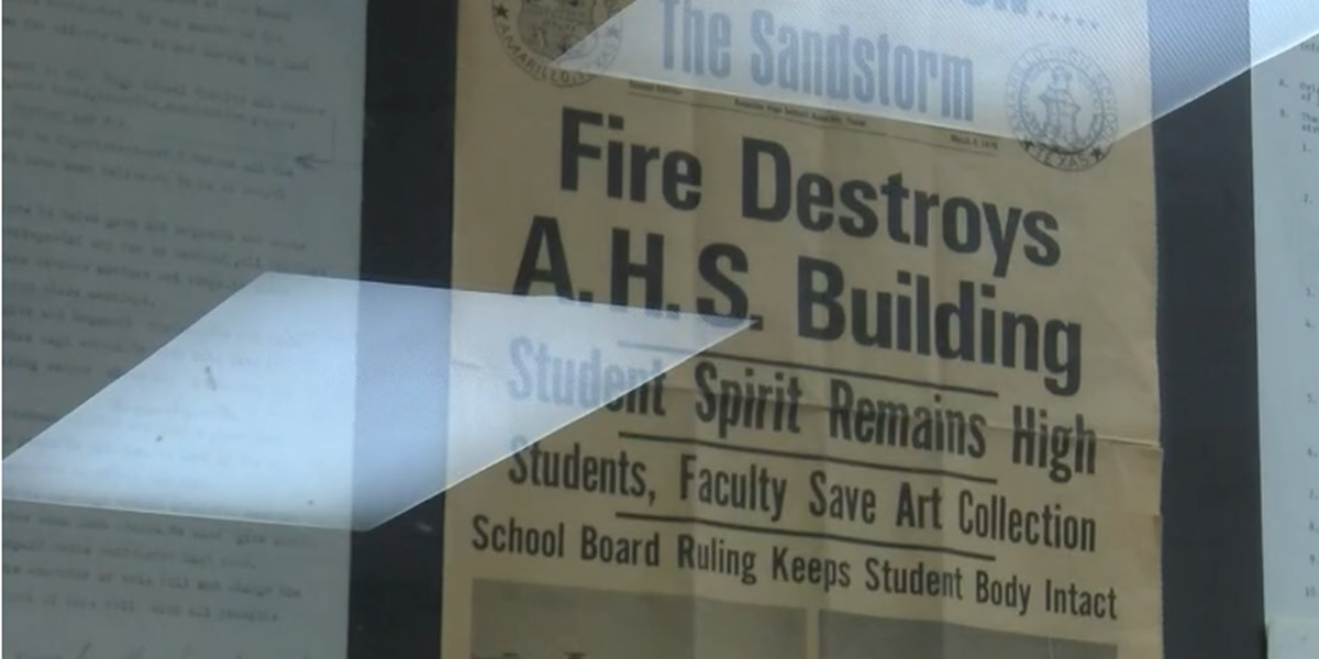 Remembering the 1970 Amarillo High School Fire