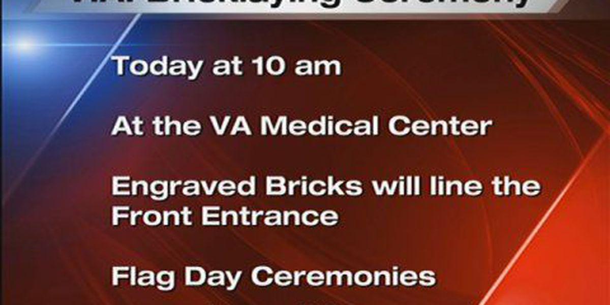 V.A. Bricklaying Ceremony