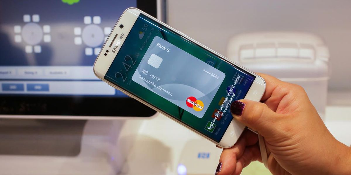 Samsung released new mobile pay technology
