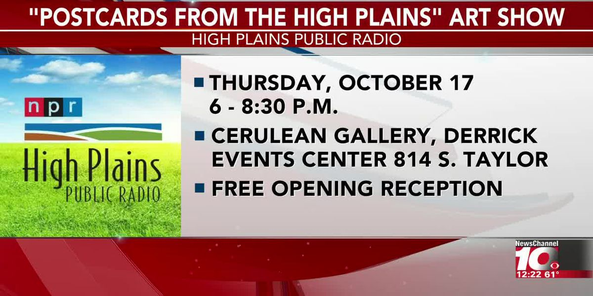 VIDEO: Cerulean Gallery hosting Postcards from the High Plains Art Exhibition