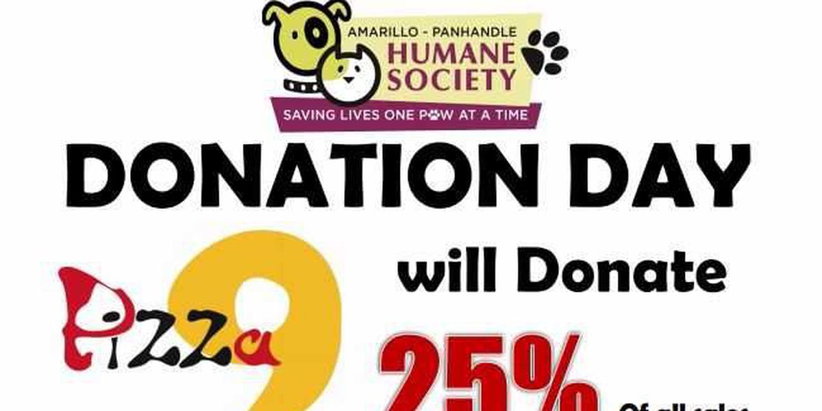 Pizza for Pups fundraiser at Pizza 9