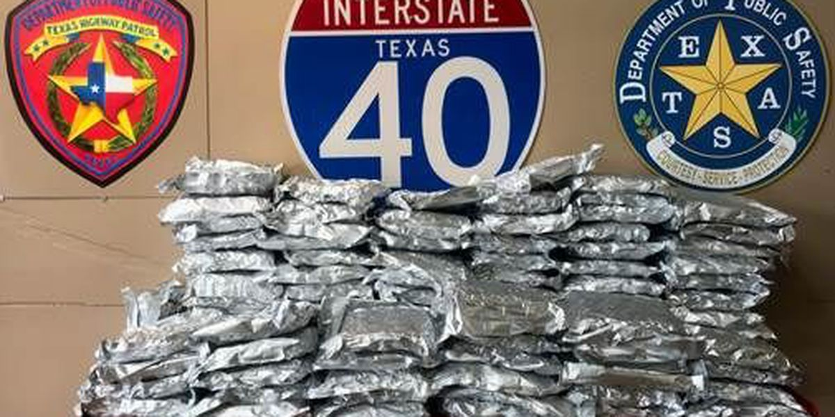 DPS seizes 114 pounds of marijuana after traffic stop in Carson County
