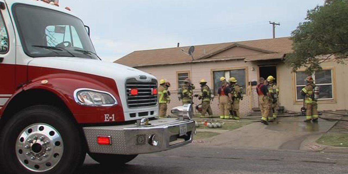 House ablaze in north Amarillo Thursday morning