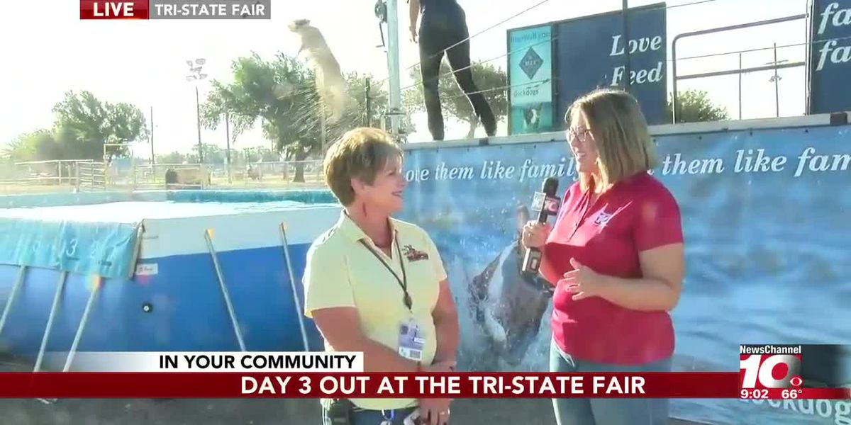 INTERVIEW: Day 3 out at the Tri-State Fair