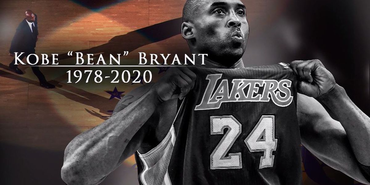 Kobe Bryant's sudden death in helicopter crash shocks fans, athletes around the world