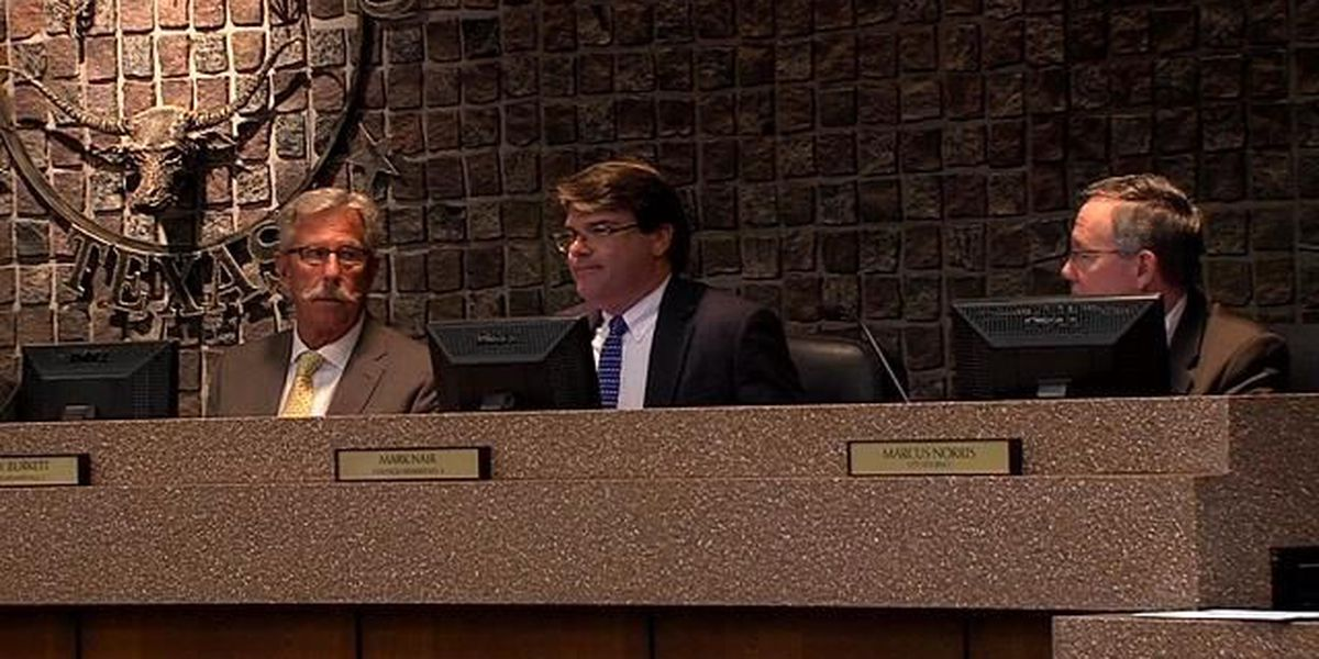 Mark Nair sworn in as the new Place 4 Amarillo City Council member