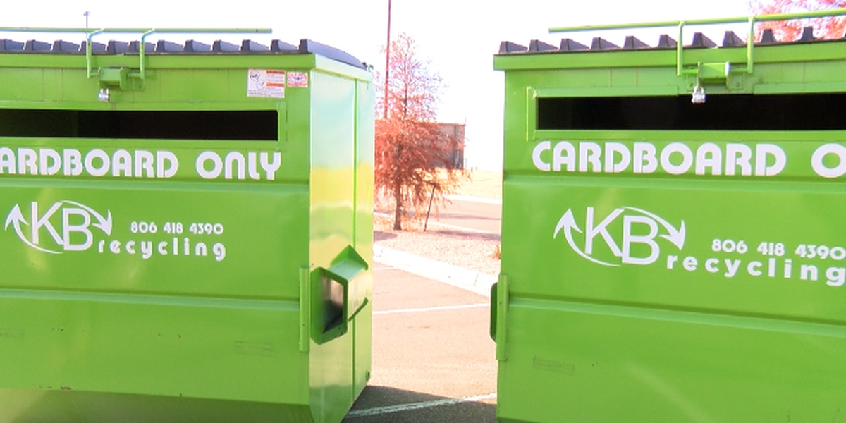 New program brings cardboard box recycling to Amarillo through the holidays