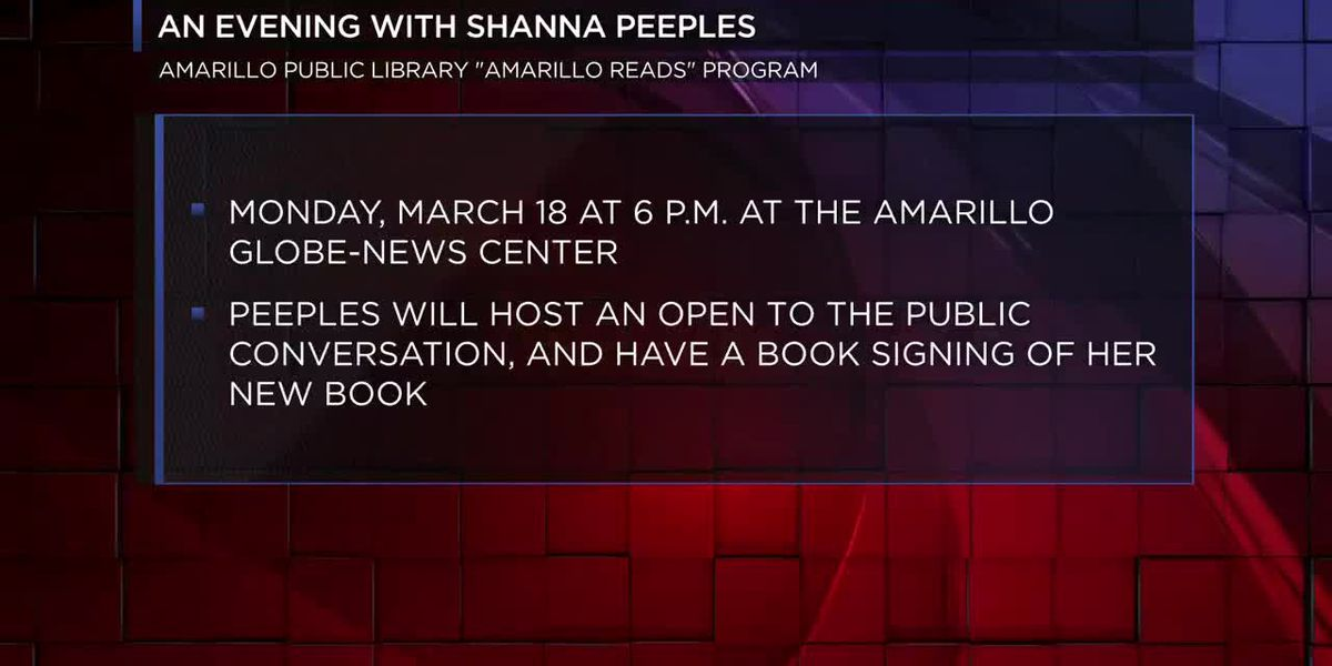 Amarillo Public Library announces Tx Panhandle native for spring AMARILLO READS event