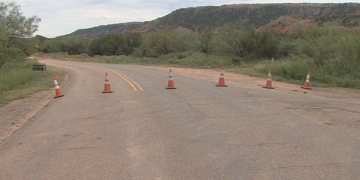 Palo Duro Canyon hiking trails closed