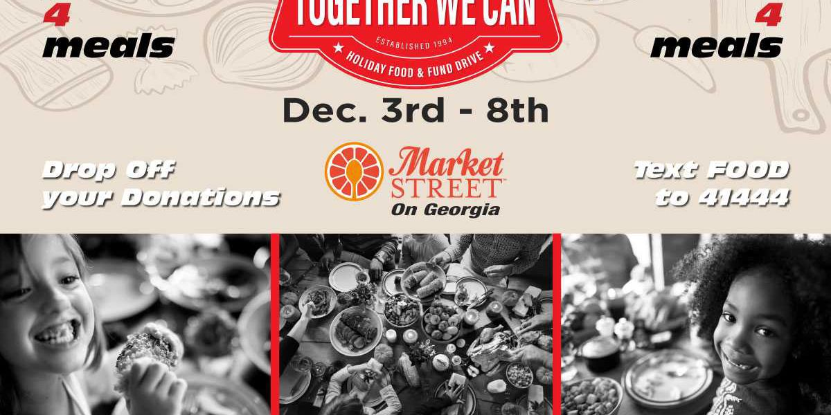 Together We Can Holiday Food Drive 2018