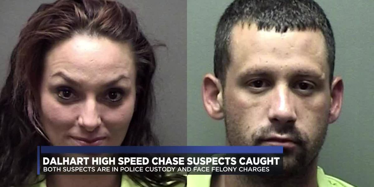 Both suspects arrested after high speed chase in Dalhart