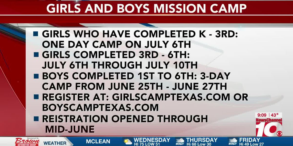 INTERVIEW: Amanda and Christina talk about the girls and boys mission camps