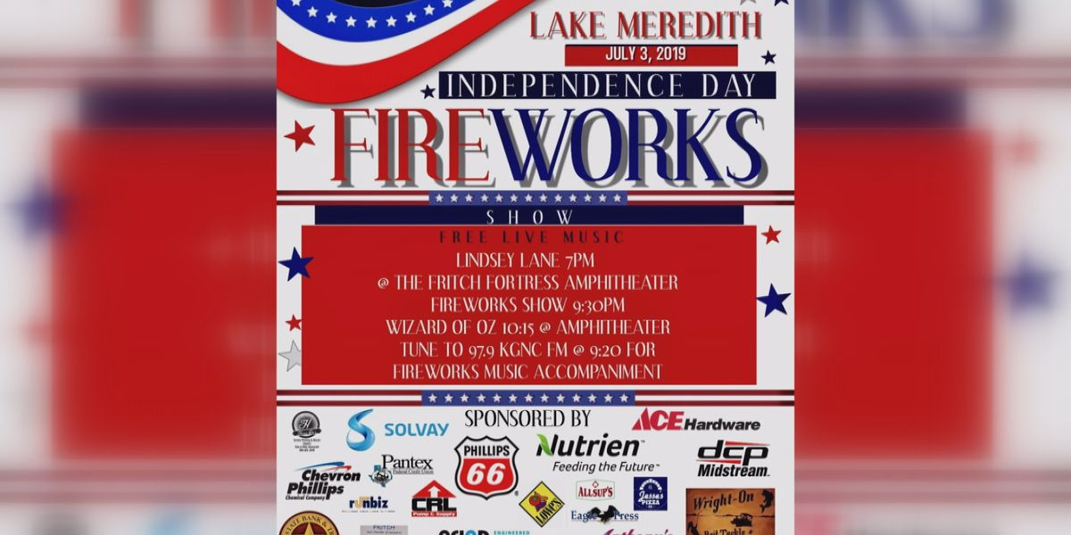 Project Fritch America fireworks show at Lake Meredith goes on for its 4th year