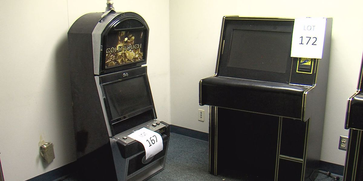 Putting it all on green: Potter County Commissioner's Court approves auction of confiscated gambling machines