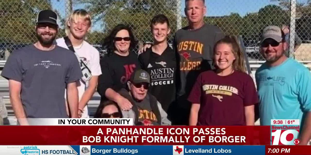 2nd Cup: Bob Knight, a Panhandle icon passes